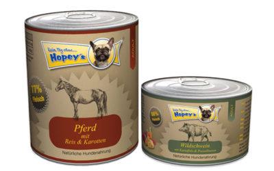 [Werbung] Hundefutter im Test: Dosenfutter Hopey's unter der Lupe