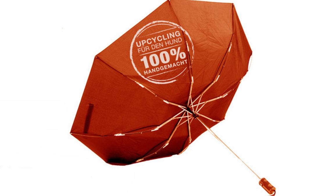 Regenschirm reparieren oder Hundemantel nähen?