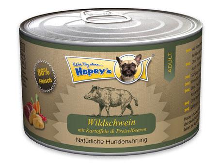 Hopey's Dosenfutter Wildschwein