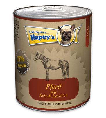 Hopey's Pferdefleisch für Allergiker