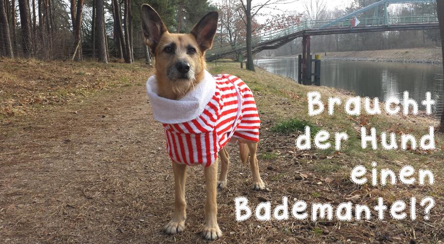 Hundebademantel von UNIQUE DOG