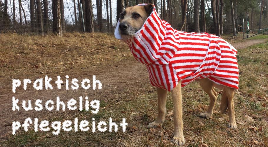 Bademantel für Hunde von UNIQUE DOG
