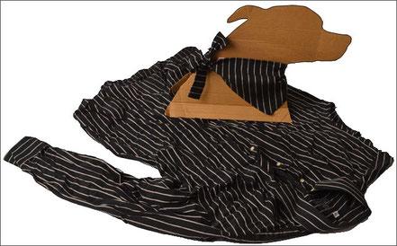 Hundehalstücher aus Männerhemden