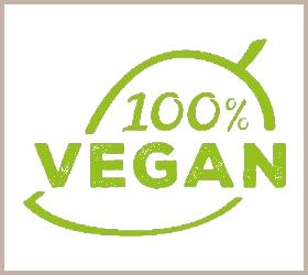Veganes Hundefutter - Label von Naftie
