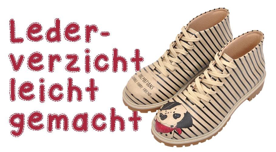 Vegane Schuhe von DOGO - Dalmatian